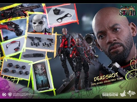 HOT TOYS - DEADSHOT - SUICIDE SQUAD - MMS 381 - FRENCH REVIEW FRANCAISE