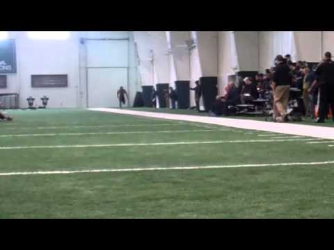 Bennie Fowler 40 - Michigan State pro day 2014