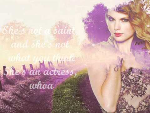 Better Than Revenge - Taylor Swift Lyrics