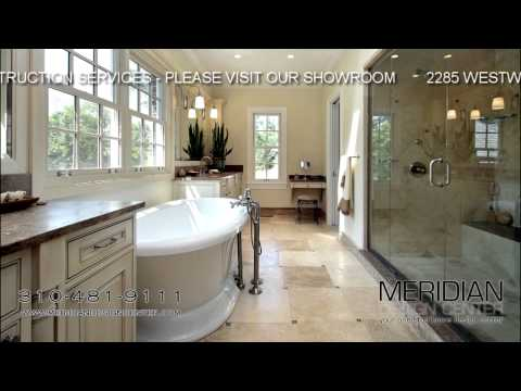 Bathroom Remodeling West Los Angeles WLA - Meridian Design Center