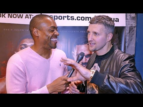 CARL FROCH: Deontay Wilder has Anthony Joshua SWEATING!