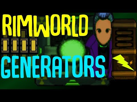 Backup Generators! Rimworld Mod Showcase
