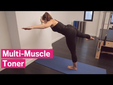 Pilates On The Wall: Side Leg Lift