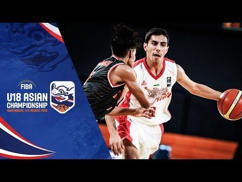 Iran V Indonesia - Full Game - FIBA U18 Asian Championship 2018
