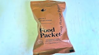 Testing US Military Long Range Patrol Food Packet