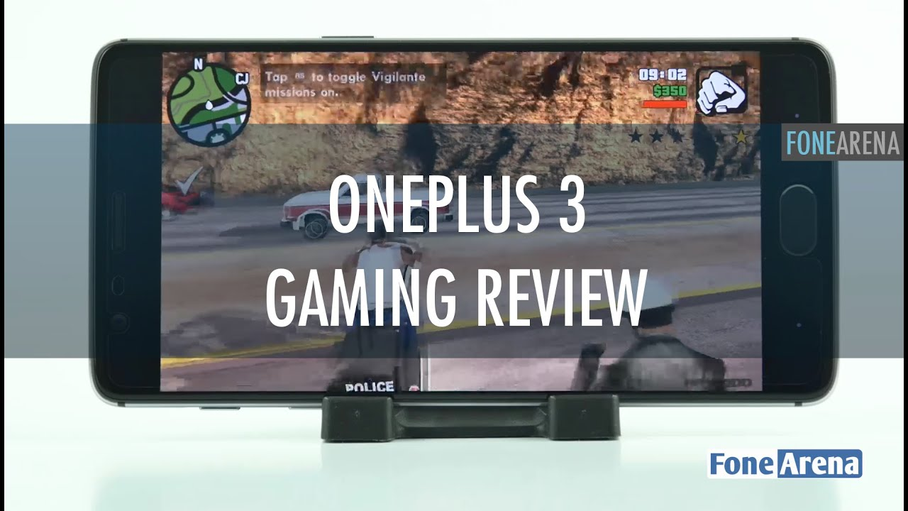 OnePlus 3 Gaming Review with Temperature Check