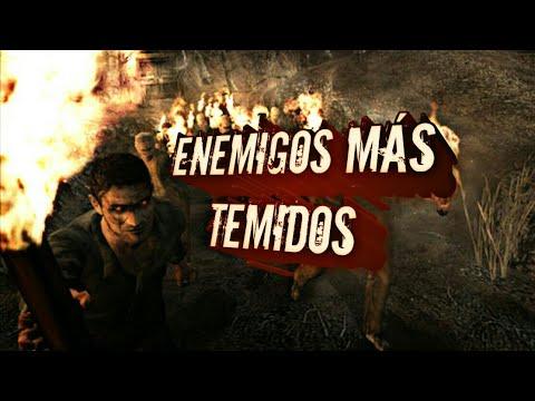 TOP 5 ENEMIGOS MÁS TEMIDOS DE RESIDENT EVIL 4| Agus Wyatt
