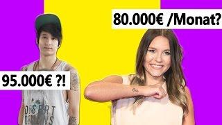 Wieviel verdienen Youtuber wirklich? & WOMIT?