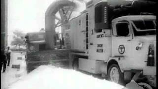 First snow plows of New York City