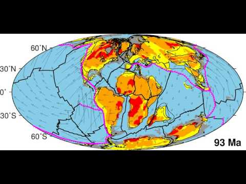 Plate tectonic reconstruction since Pangea breakup