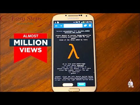 SOLVED - How to Root Samsung Galaxy S4 without Computer | Towelroot