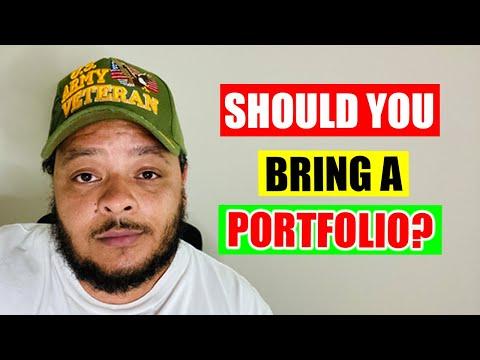 Do You Need a Portfolio for a Tech Job Interview?