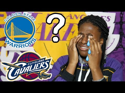 WHO SHOULD LAKERS FANS ROOT FOR IN NBA FINALS?! HARDEST DECISION OF 2018!