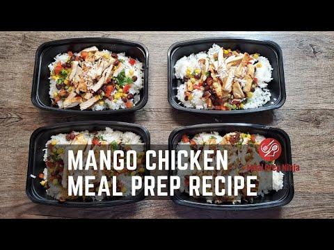 Mango Chicken Meal Prep Bowl Recipe Healthy Low Calorie Recipes