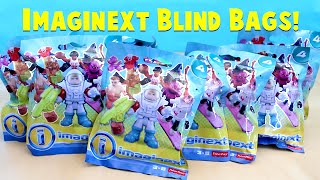 Imaginext Blind Bags Series 4 Opening Fisher Price Toys