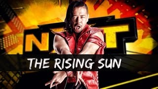 shinsuke nakamura nxt wwe theme song the rising sun new