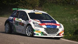 Rally Due Valli 2018 - Peugeot 208 T16 e Paolo Andreucci - Highlights