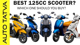 Which 125cc Scooter to Buy?   Access 125 vs Activa 125 ?   Answering your most common questions.