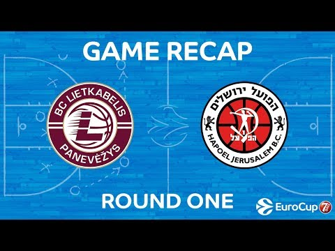 Highlights: Lietkabelis Panevezys-Hapoel Bank Yahav Jerusalem