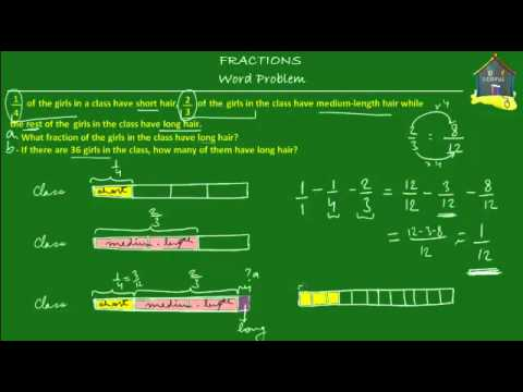 singapore math grade 5 primary 5 fractions word problem q2 youtube. Black Bedroom Furniture Sets. Home Design Ideas