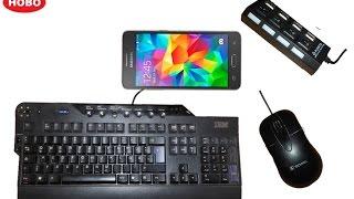 Telefona ve tablete mouse ve klavye nasıl baglanır türkçe