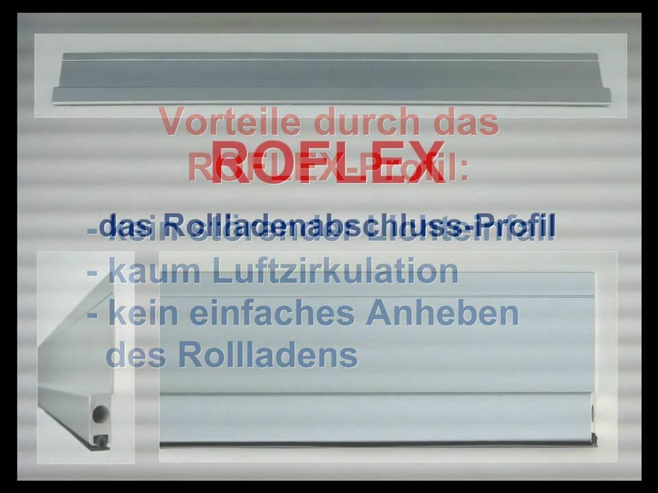ROFLEX-das Rollladenabschlussprofil - YouTube