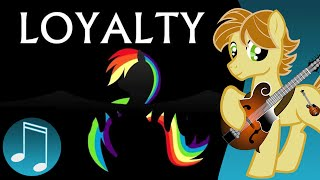 Repeat youtube video Loyalty - original MLP music by AcousticBrony & MandoPony