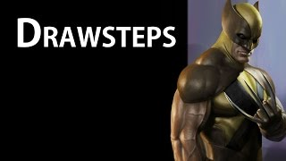 02 Wolverine Fanart - Drawsteps