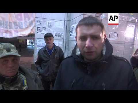 Demo supports blockade of Ukraine rebel regions
