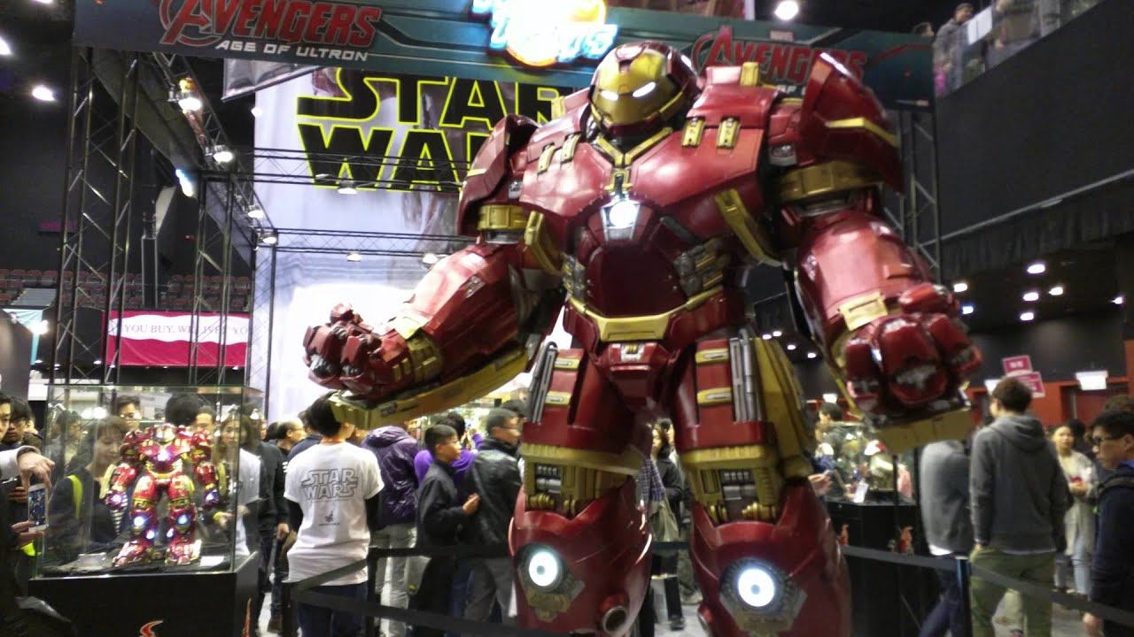 Spiderman Wallpaper 3d Hd Age Of Ultron Life Size Hulk Buster Youtube