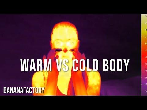 Human Body On Thermal Camera! Sauna And More!