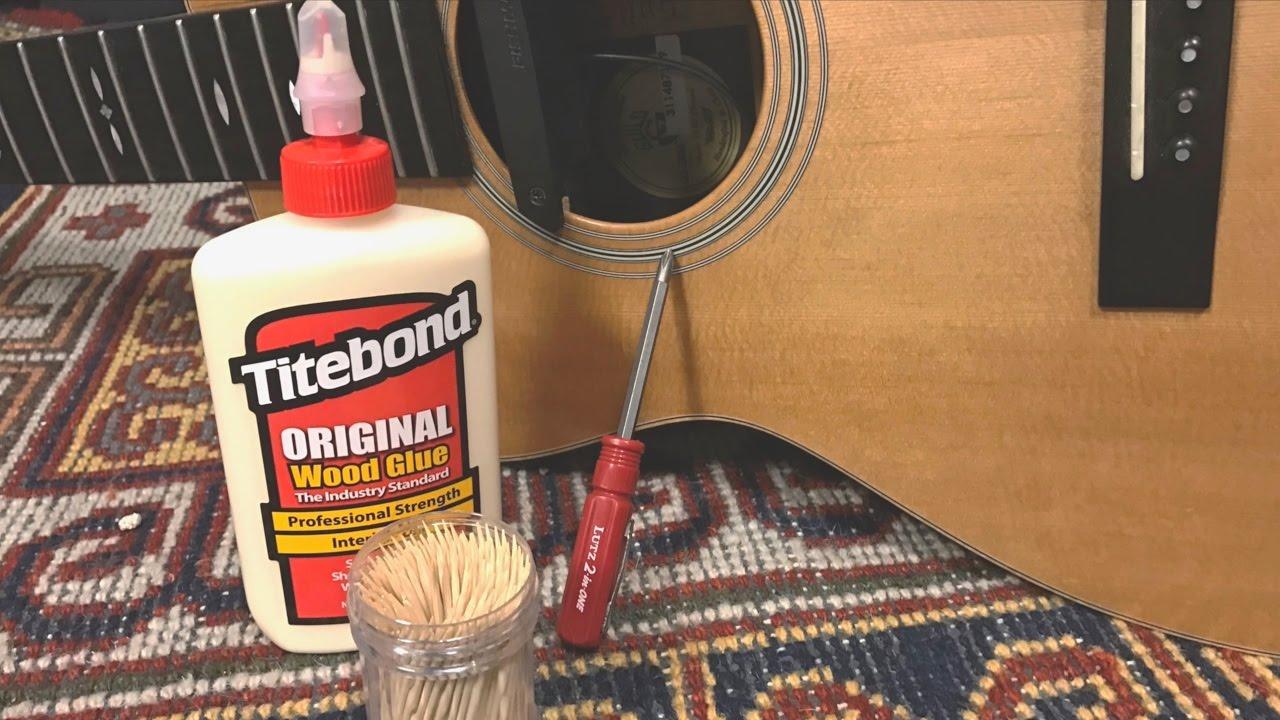 Wood glue before screws