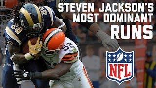 Steven Jackson's Most Dominant Runs | NFL Highlights