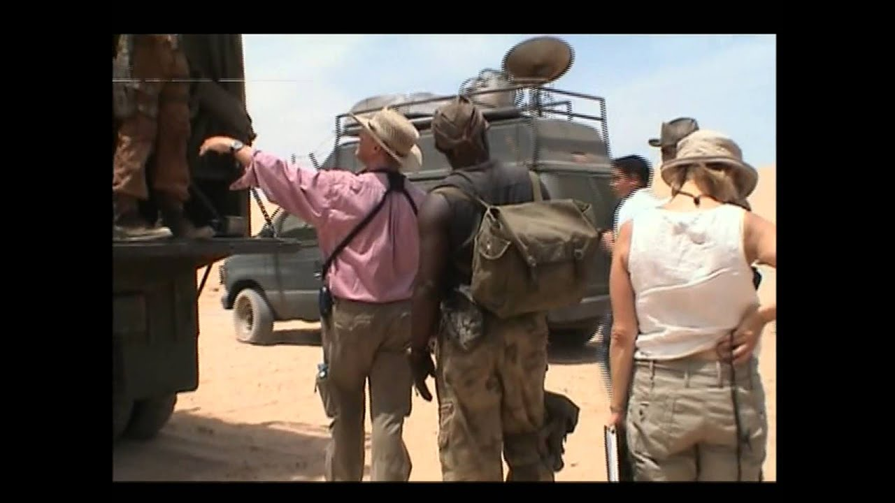 Resident Evil Extinction Behind The Scenes Footage Youtube