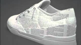 Glenn Ebron | Athletic Shoe Upper with Religious Text