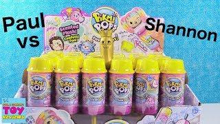 Baixar Paul vs Shannon PushMi Ups Pikmi Pops Surprise Challenge Toy Review | PSToyReviews