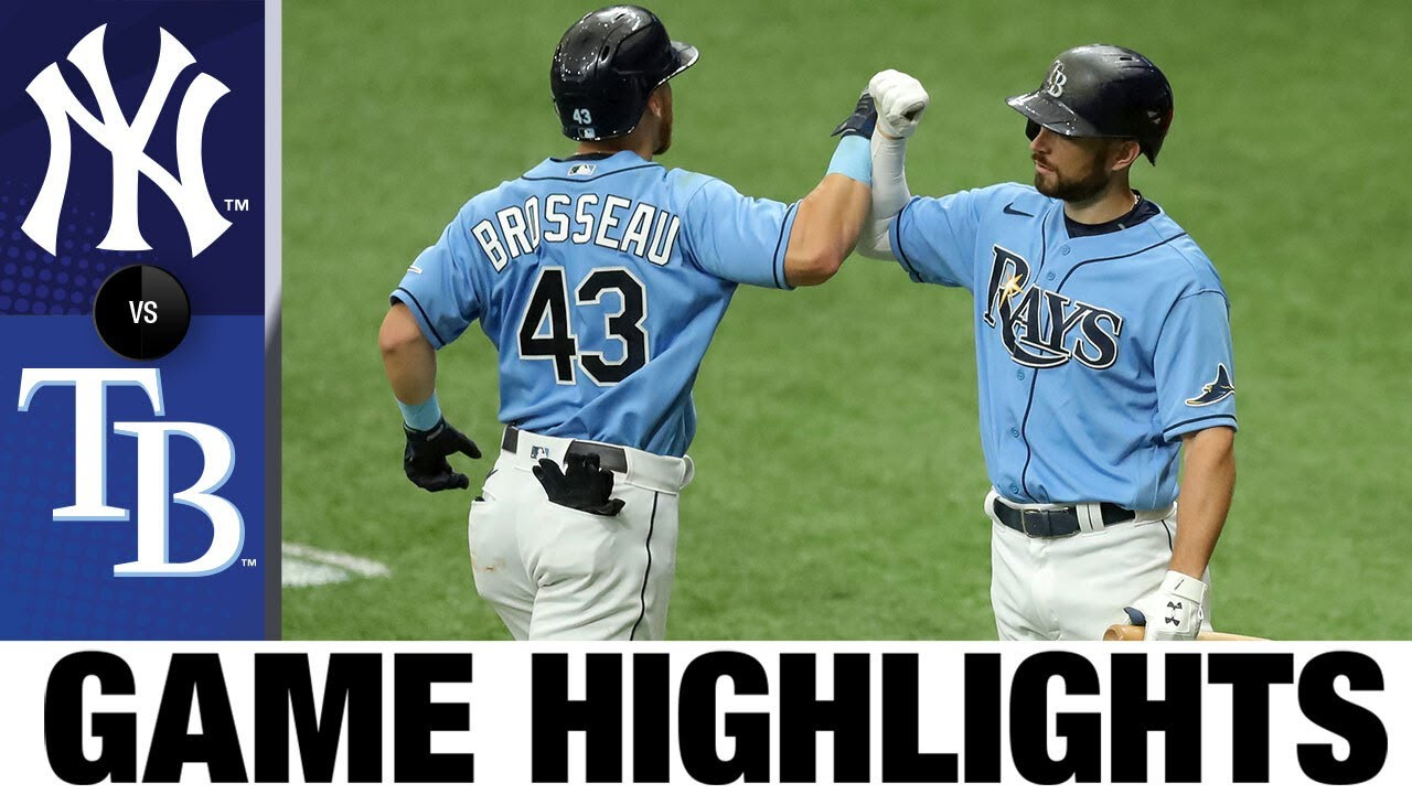 Michael Perez hits walk-off in 4-3 win vs. Yankees | Yankees-Rays Game Highlights 8/9/20