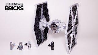 Lego Star Wars 75211 Imperial TIE Fighter Lego Speed Build