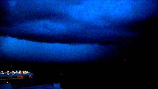 Evening Twilight Lightning 70 meters above Sea Level