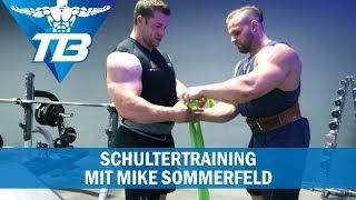 Schultertraining mit Mike Sommerfeld