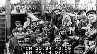 WW1 German U-Boats Sinking British Ships 221790-08   Footage Farm
