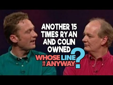 """Another 15 Times Ryan AND Colin Owned """"Whose Line Is It, Anyway?"""""""