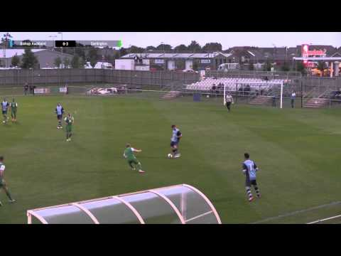 Bishop Auckland 0-8 Darlington - Pre-Season Friendly - 2015/