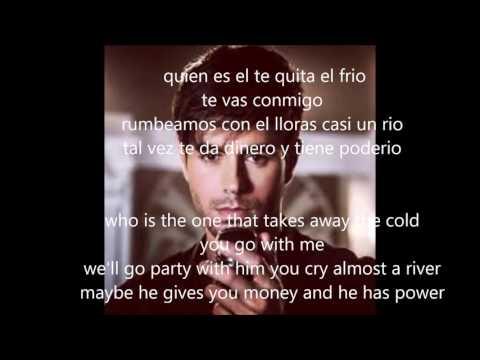 Enrique Iglesias - Duele el corazón [letra en inglés y español]
