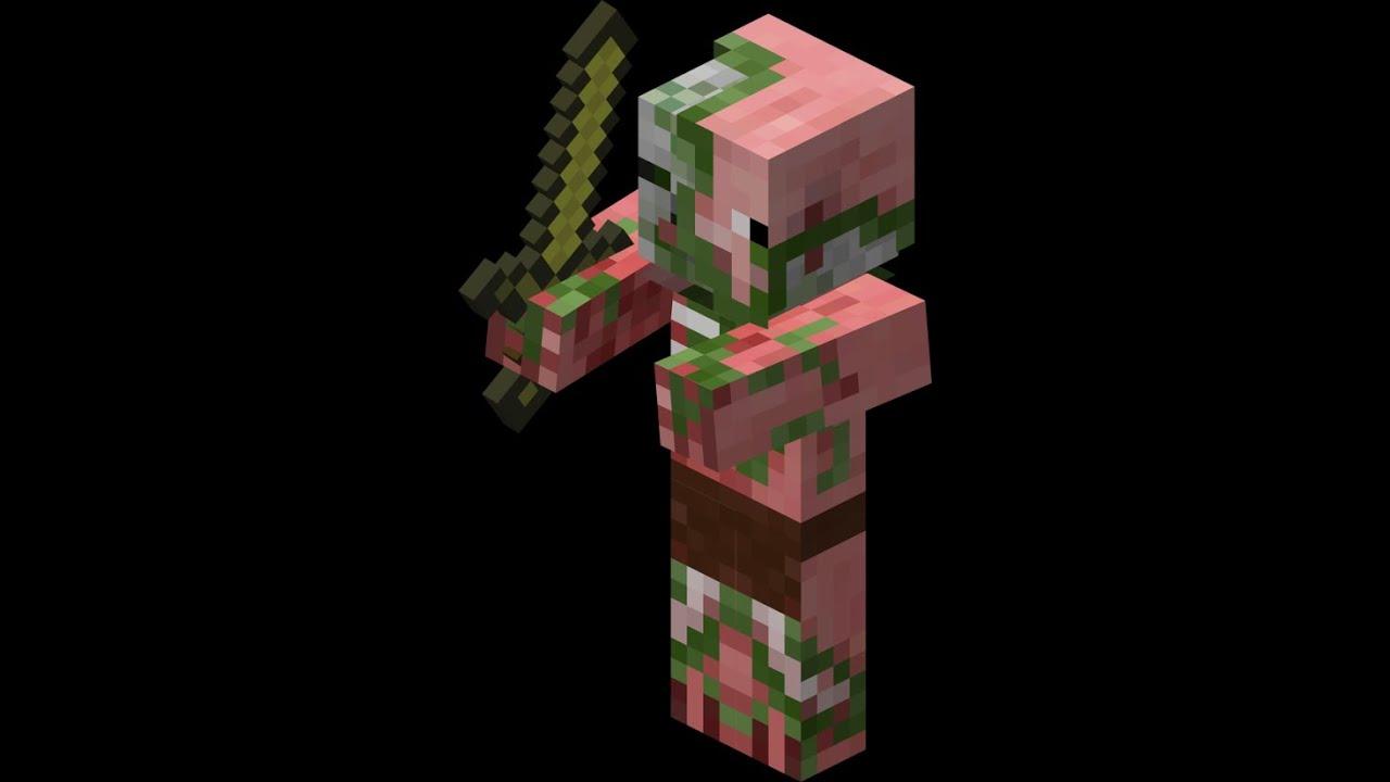 Minecraft 1.8 Zombie Pigman Aggressive Bug - YouTube