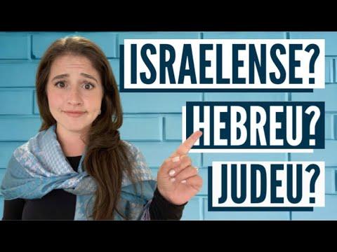 Download Judeu e Israelense é a mesma coisa?! O que quer dizer judeu, israelita, hebreu e israelense?