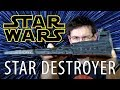 STAR WARS! 3D Printing Star Destroyer using Filamentum on TEVO Little Monster Delta 3D Printer