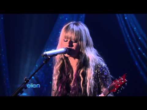 [1080p] Orianthi - According to You @ ( Ellen DeGeneres Show 21.01.2010) HD