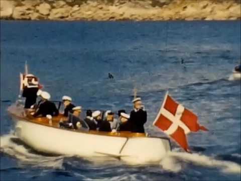 Kongeligt besøg i Sisimiut (Holsteinsborg) 1960.