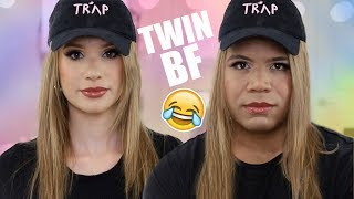 TRANSFORMING MY BOYFRIEND INTO ME CHALLENGE